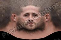0004 Man head premade texture 0004